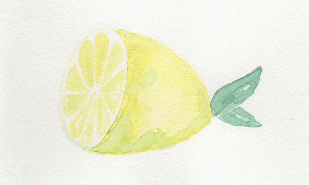 Früchte Aquarell Malen für Anfänger und Fortgeschrittene Online