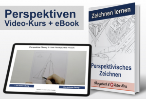 Perspektivisches Zeichnen (Online-Video-Kurs + eBook)