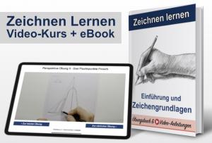 Einführung in die Zeichengrundlagen (Online-Video-Kurs + eBook)