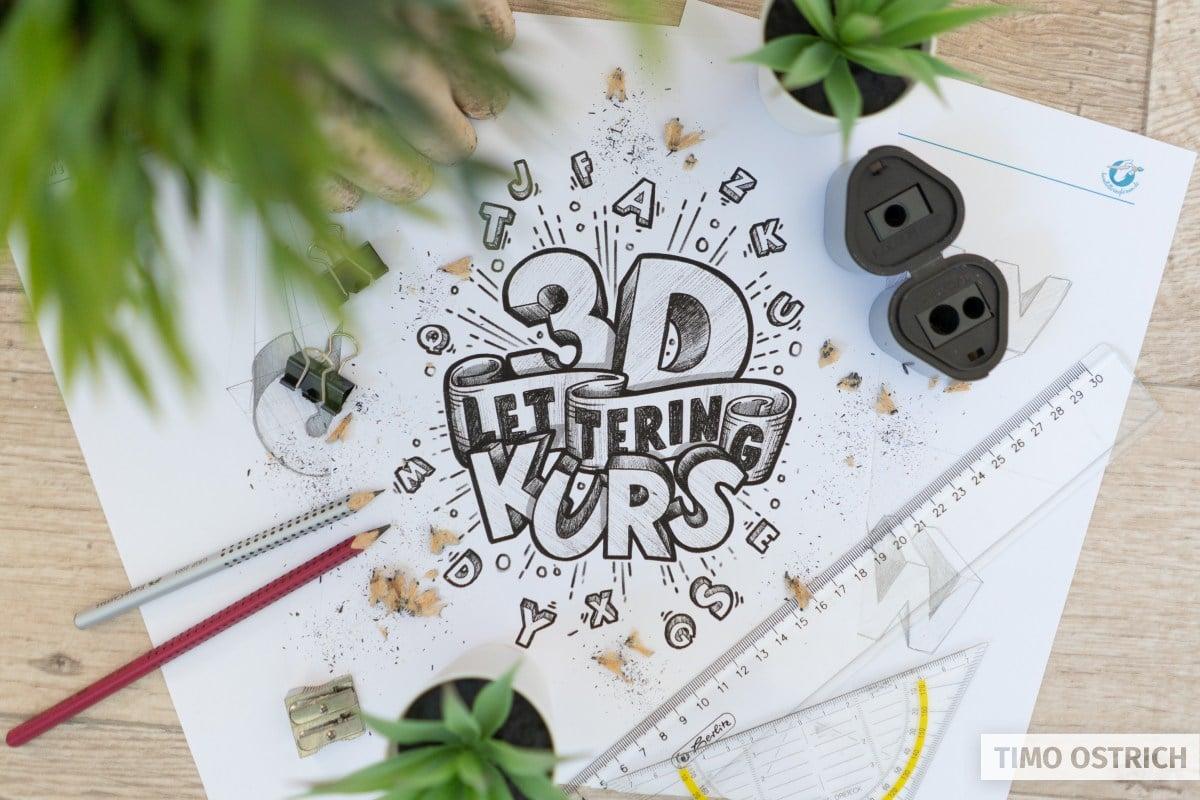 3D Lettering Online Kurs