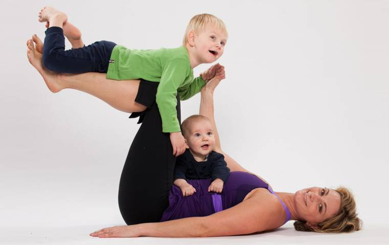 Ganzkörper-Fitness Online Kurs für Mütter
