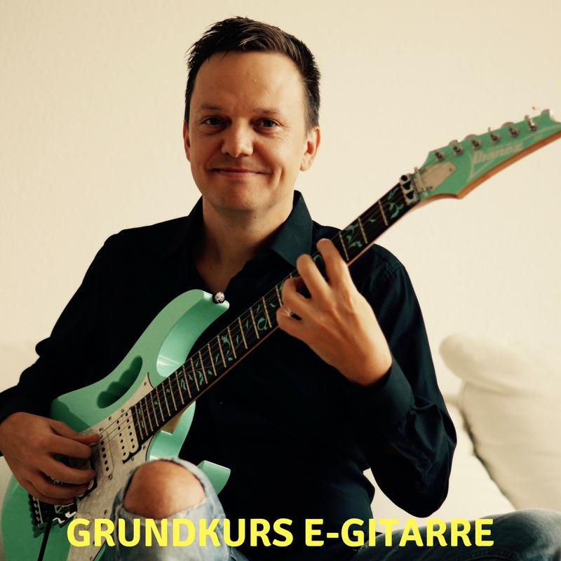 Online Grundkurs E-Gitarre