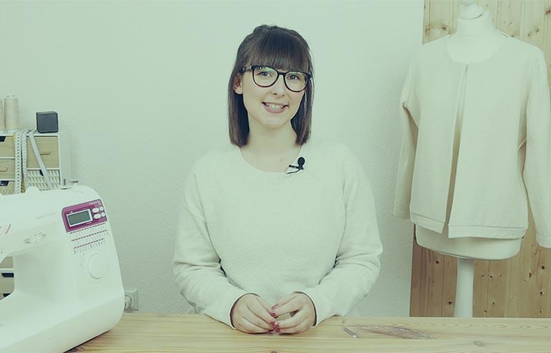 Online Nähkurs für einfache Damenbekleidung