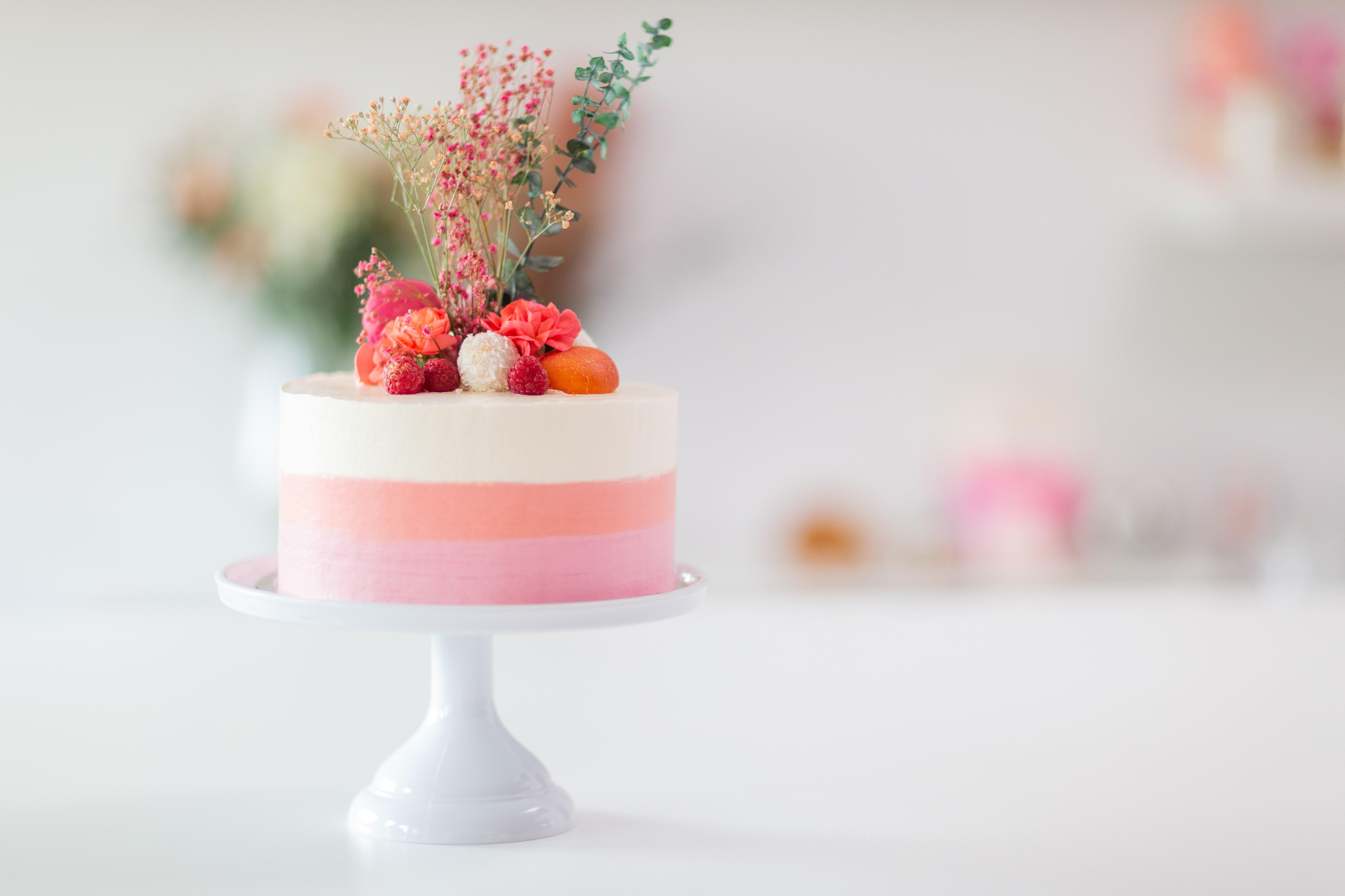 Online Aufbaukurs Ombre Cake - Starte mit deiner fertigen Naked Cake