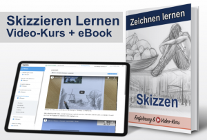 Skizzieren Lernen (Online-Video-Kurs + eBook)