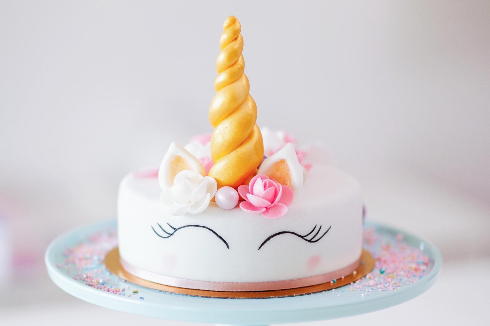 Online Backkurs - Bezaubernde Einhorn Torte